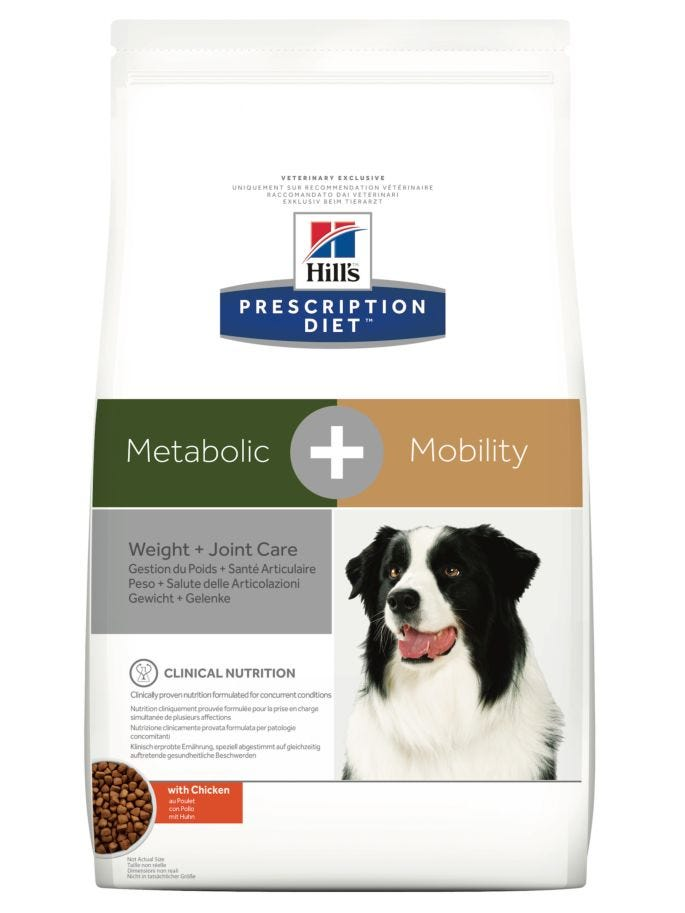 Hills Prescription Diet Canine Metabolic + Mobility Chicken - Dry Dog Food