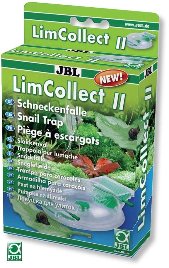 JBL LimCollect II Chemical-Free Snail Trap