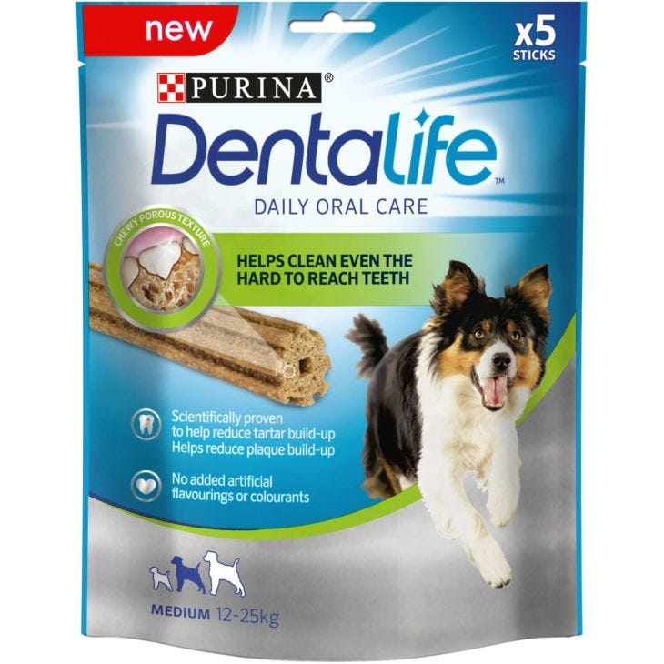 Purina DentaLife Daily Oral Care Chew Treats for Dogs