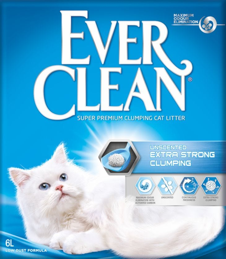 Ever Clean Extra Strong Unscented - Cat Litter