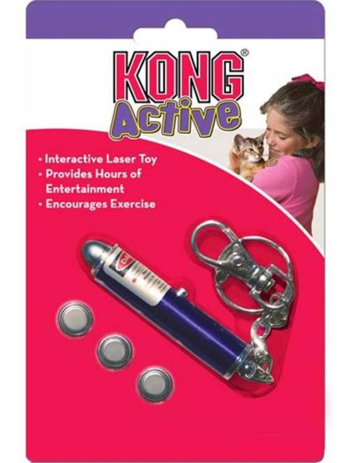 Kong Active Cat Laser Pointer Toy