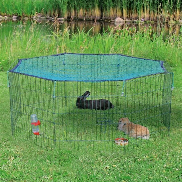 Trixie Natura Outdoor Run with Protective Net