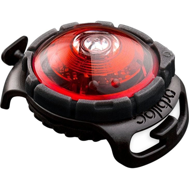 Orbiloc Safety Light Dog Dual Red LED - With Quick Mount & Adjustable Strap
