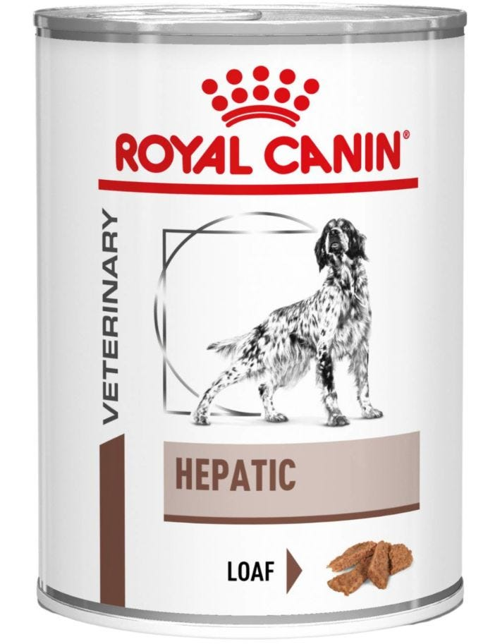 Royal Canin Veterinary Diets Wet Dog Hepatic
