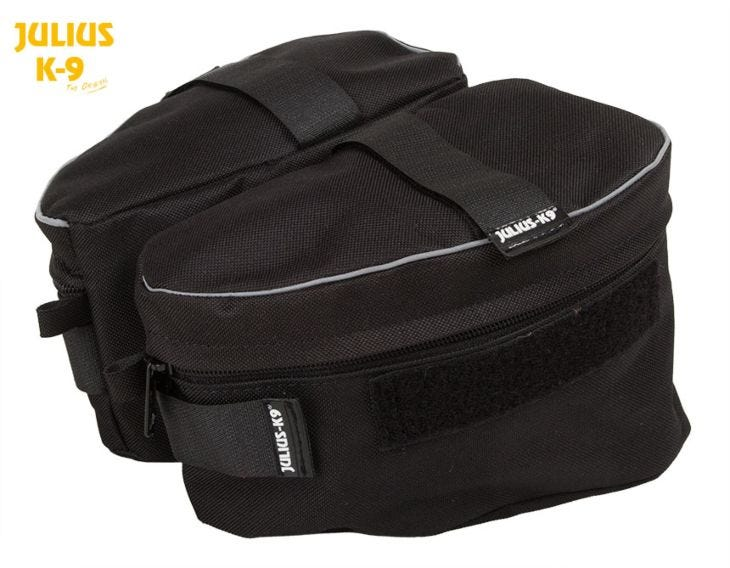 Julius K9 Side/Saddle Bags 2-Pack for IDC Powerharness Dog Harness