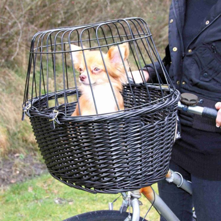 Trixie Dog Travel Friends On Tour Bicycle Basket