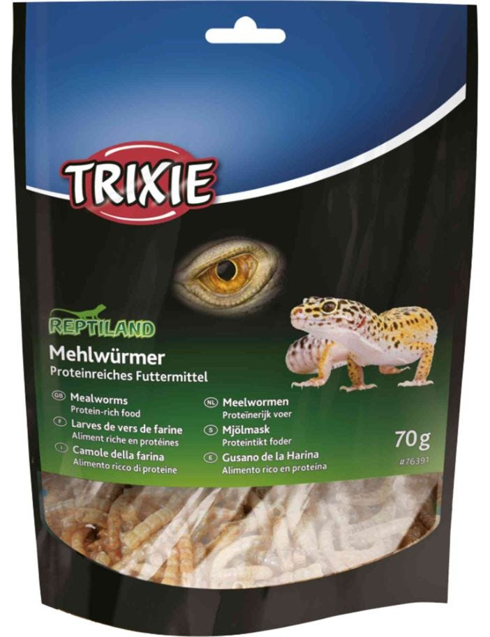 Trixie Reptile Mealworms Dried