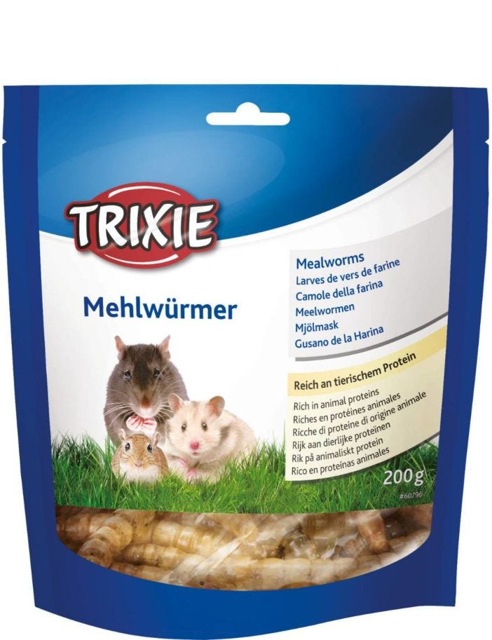 Trixie Mealworms dried