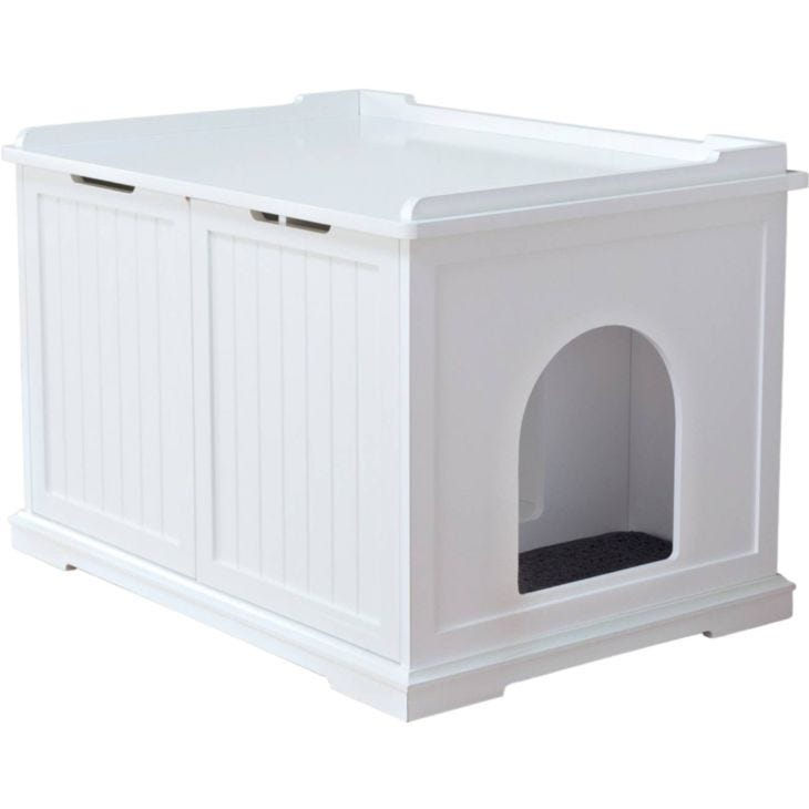 Trixie Cat House for cat toilets White XL