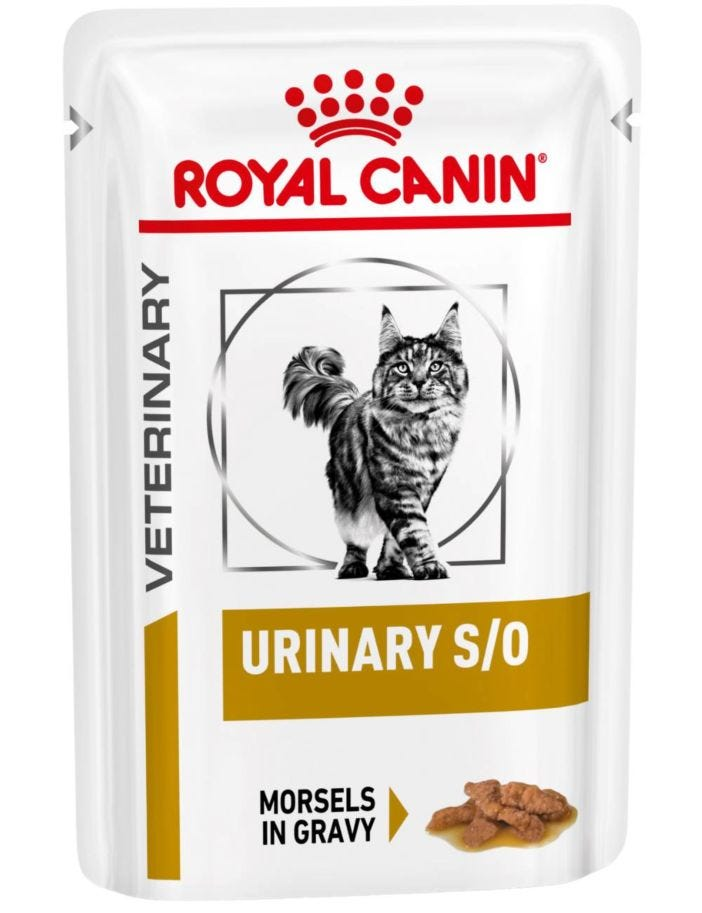 Royal Canin Veterinary Diets Cat Urinary S/O Morsels in Gravy