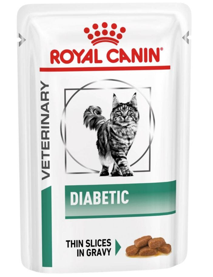 Royal Canin Veterinary Diets Wet Cat Weight Management Diabetic