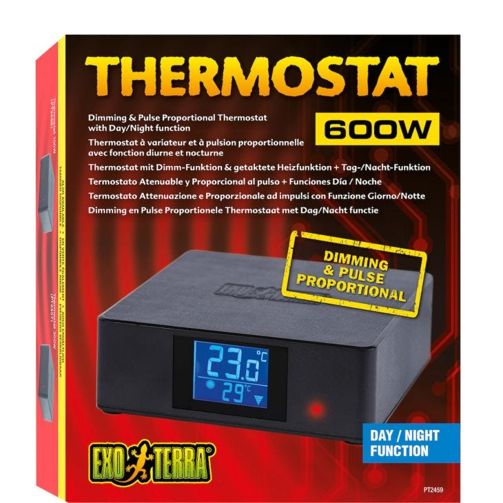 Exo Terra Thermostat - Electric On/Off Thermostat