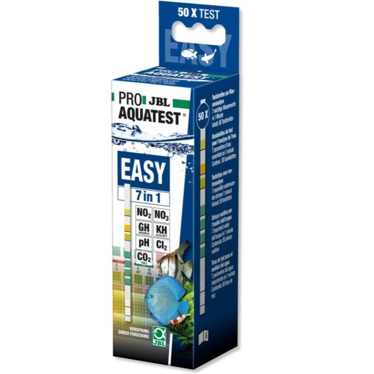 JBL ProAquaTest EasyTest 7 in1 Strips Quick Water Testing