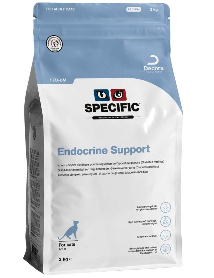 Specific™ Cats FED-DM Endocrine Support Dry